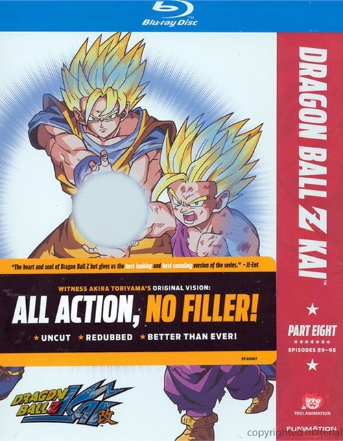 Dragon Ball Z Kai: Part 8 Blu-ray