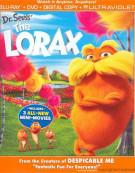 Dr. Seuss The Lorax (Blu-ray + DVD + Digital Copy + UltraViolet) Blu-ray