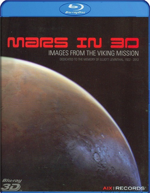 Mars In 3D: Images From the Viking Mission Blu-ray