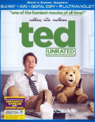 Ted (Blu-ray + DVD + Digital Copy + UltraViolet) Blu-ray