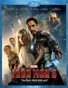 Iron Man 3 (Blu-ray + DVD Combo) Blu-ray