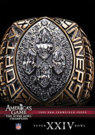 NFL Americas Game: 1989 San Francisco 49ers Super Bowl XXIV Movie