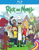 Rick and Morty: The Complete Second Season Blu-ray