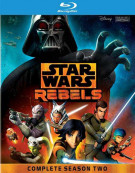 Star Wars Rebels: The Complete Second Season Blu-ray
