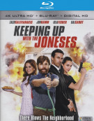 Keeping Up with the Joneses (4K Ultra HD + Blu-ray + UltraViolet) Blu-ray