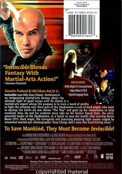 Invincible movie billy zane
