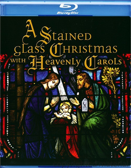 Stained Glass Christmas With Heavenly Carols, A Blu-ray