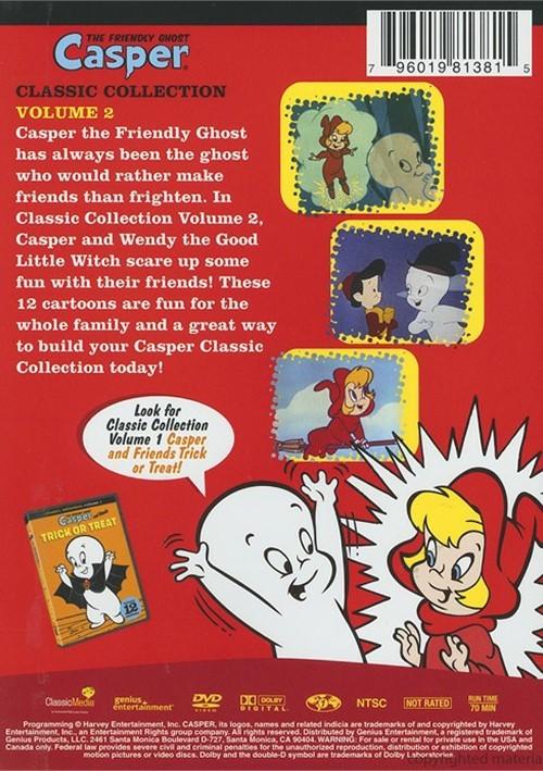 Casper the friendly ghost casper amp wendy scare up some fun dvd 2008
