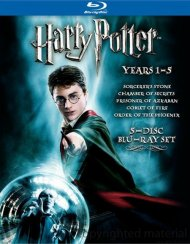 Harry Potter: Years 1 - 5 Blu-ray