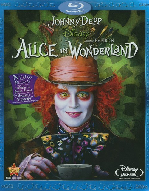Alice In Wonderland Blu-ray