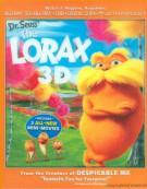 Dr. Seuss The Lorax 3D (Blu-ray 3D + Blu-ray + DVD + Digital Copy + UltraViolet) Blu-ray