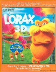 Dr. Seuss The Lorax 3D (Blu-ray 3D + Blu-ray + DVD + Digital Copy + UltraViolet) Blu-ray