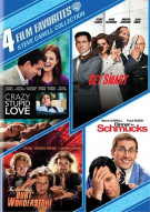 4 Film Favorites: Steve Carell Collection Movie