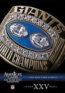 NFL Americas Game: 1990 New York Giants Super Bowl XXV Movie