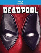 Deadpool (Blu-ray + DVD + UltraViolet) Blu-ray
