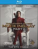 Hunger Games, The: Mockingjay - Part 2 (4K Ultra HD + Blu-ray + UltraViolet) Blu-ray