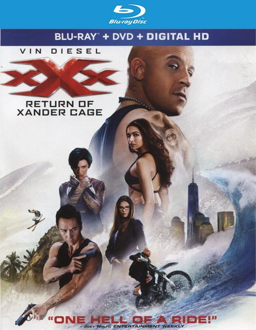 xXx: Return of Xander Cage  (Blu-ray + DVD + UltraViolet) Blu-ray