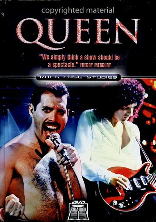 Queen: Rock Case Studies Book / DVD Set Movie