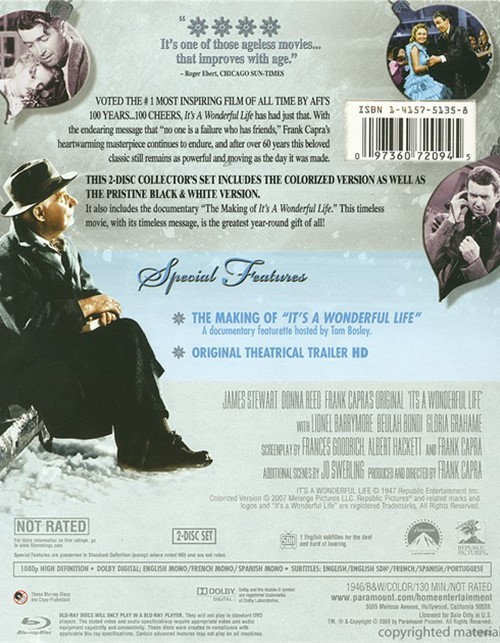 It 39 S A Wonderful Life Blu Ray 1946 Dvd Empire