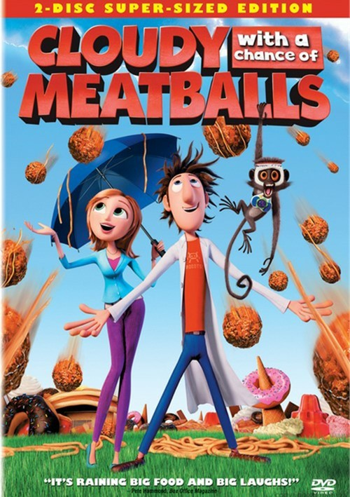 Cloudy With A Chance Of Meatballs: 2 Disc Super Sized Edition Movie