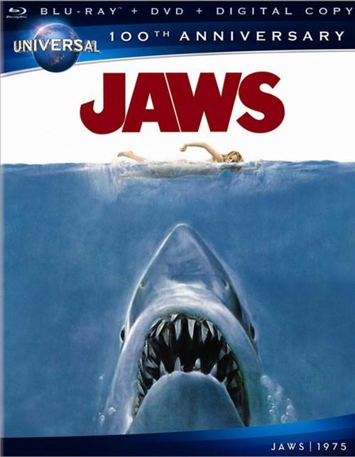Jaws (Blu-ray + DVD + Digital Copy + UltraViolet) Blu-ray