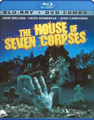 House Of Seven Corpses, The (Blu-ray + DVD Combo) Blu-ray