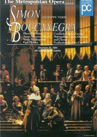 Metropolitan Opera, The: Simon Boccanegra Movie