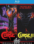 Curse, The/Curse II:The Bite (Double Feature) Blu-ray