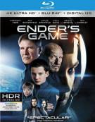 Enders Game (4K Ultra HD + Blu-ray + UltraViolet) Blu-ray
