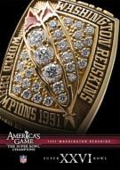 NFL Americas Game: 1991 Washington Redskins XXVI Movie