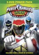 Power Rangers Dino Charge 3 DVD Set Movie
