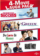 4-Movie Laugh Pack:The Secret Of My Success/Greedy/For Love Or Money/The Hard Way Movie
