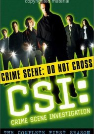 CSI: Crime Scene Investigation - The Complete First Season Movie