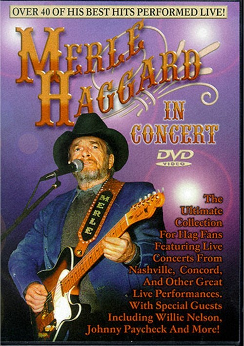 Merle Haggard In Concert Movie