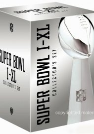 NFL Super Bowl Collection: I - XL Movie