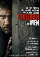 Children Of Men (Fullscreen) Movie