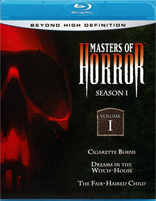 Masters Of Horror: Season One - Volume One Blu-ray