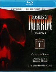 Masters Of Horror: Season One - Volume One Blu-ray