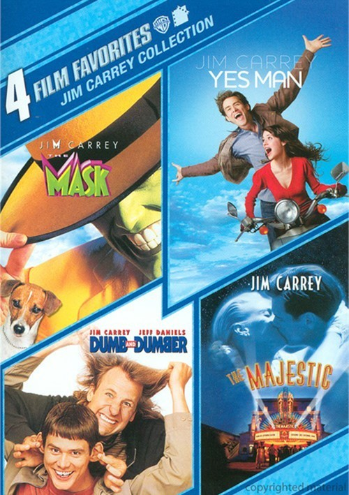 4 Film Favorites: Jim Carrey Collection Movie