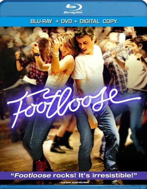 Footloose (Blu-ray + DVD + Digital Copy) Blu-ray