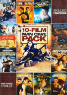 10-Film Man Cave Action & Martial Arts Pack Movie