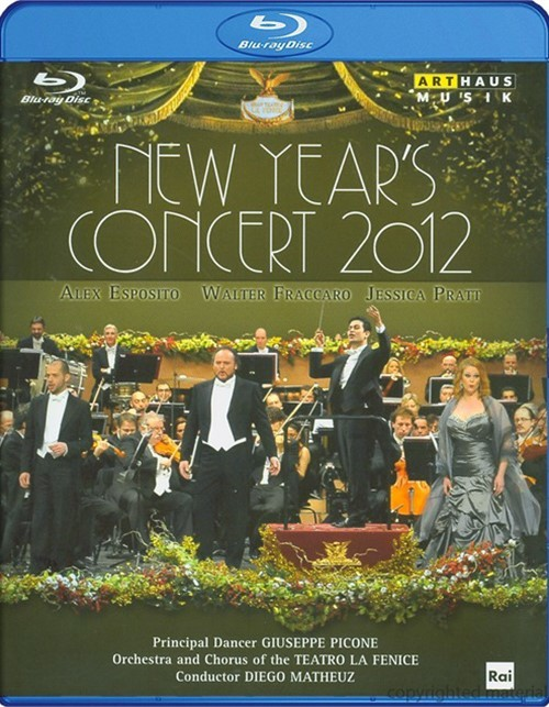 New Years Concert 2012 Blu-ray