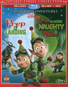Prep & Landing: 2 Holiday Adventure Collection (Blu-ray + DVD Combo) Blu-ray