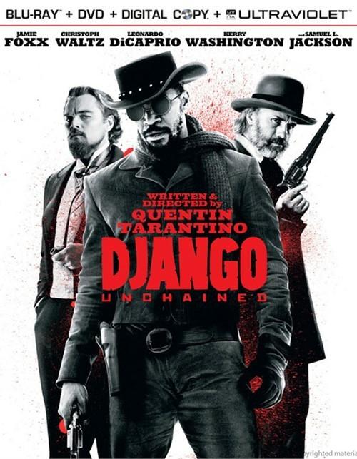 Django Unchained (Blu-ray + DVD + Digital Copy + UltraViolet) Blu-ray