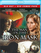 Man In The Iron Mask, The (Blu-ray + DVD Combo) Blu-ray