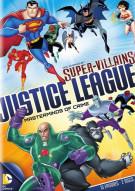 DC Super Villains Justice League: Masterminds Of Crime Movie
