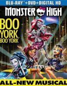 Monster High: Boo York, Boo York (Blu-ray + DVD + UltraViolet) Blu-ray