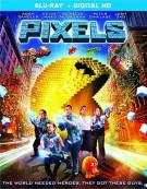 Pixels (Blu-ray + UltraViolet)  Blu-ray