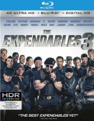 Expendables 3, The (4K Ultra HD + Blu-ray + UltraViolet) Blu-ray