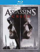 Assassins Creed (Blu-ray 3D + Blu-ray + UltraViolet) Blu-ray